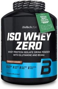 Protéine Iso Whey Zero marque Biotech USA