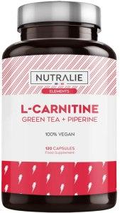 gélules carnitine bio aux extraits de thé vert