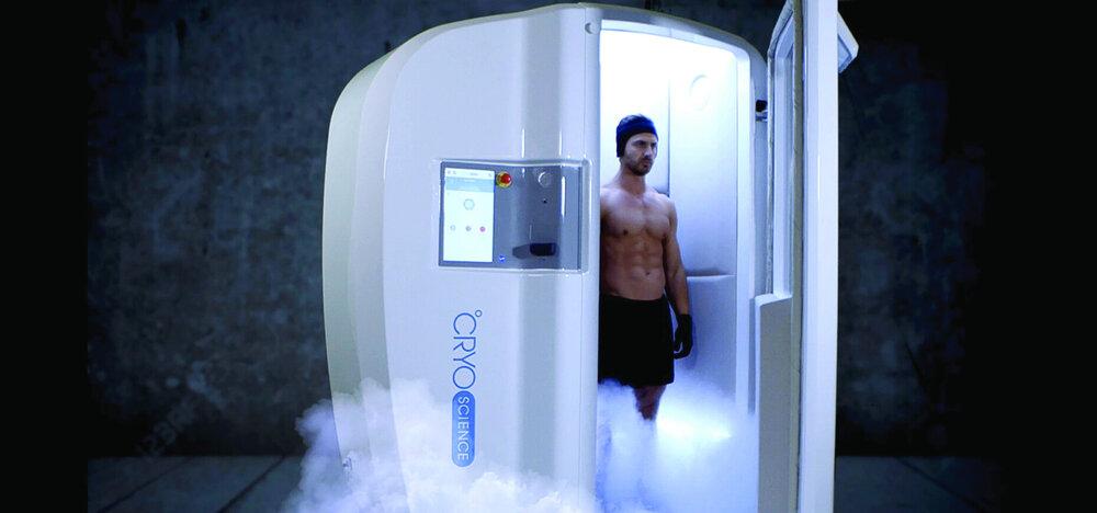 capsule de cryothérapie