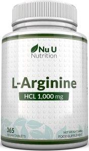 Gélules NU-NUTRITION en Arginine pure