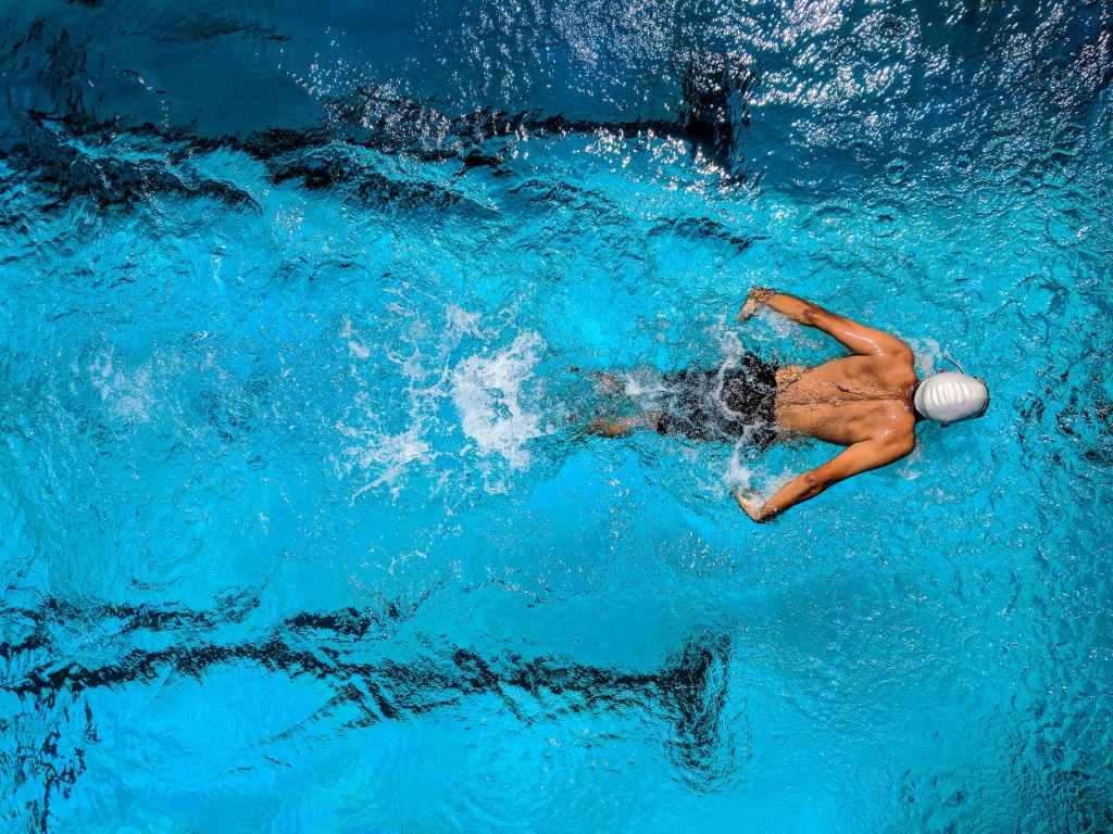 activité sportive comme la natation