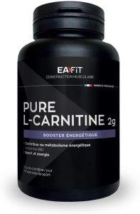 gélules carnitine marque eafit 2g